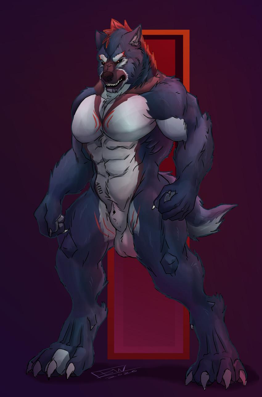 ypsilon drawn by fullbodywolf