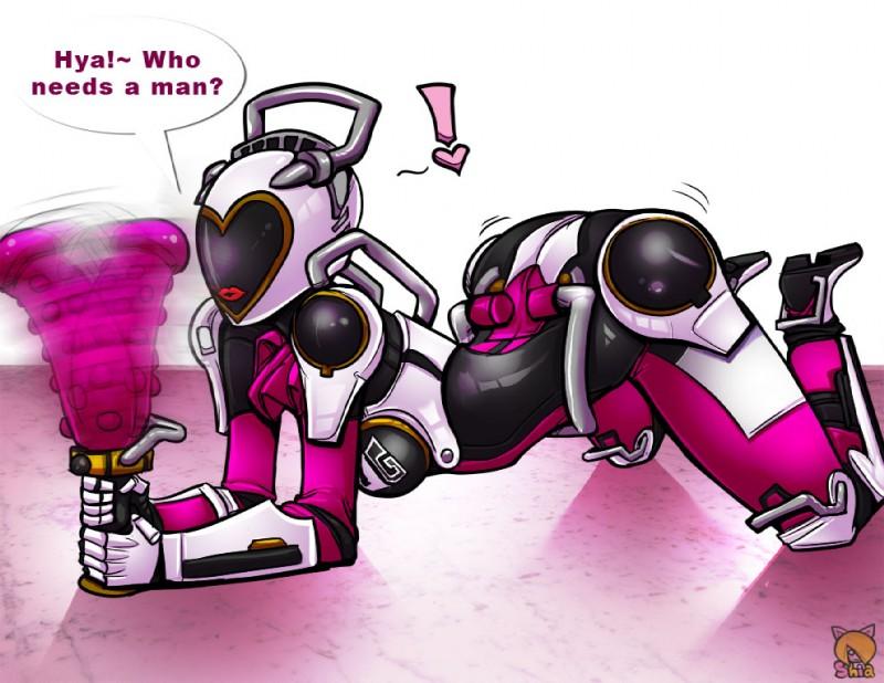 E621 Anthro Dildo Female Handles Machine Ressha_sentai_toqger Robot Sex_toy Shia_artist Super_sentai Wagon_