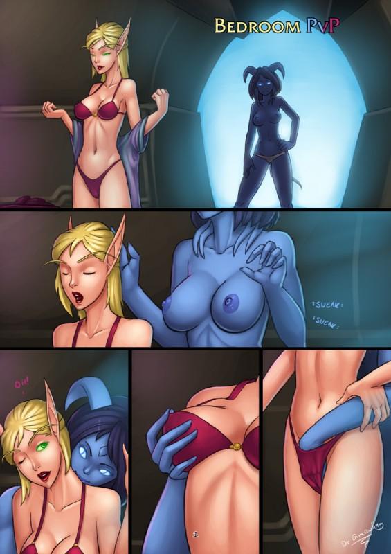 Порно комиксы эльфийка