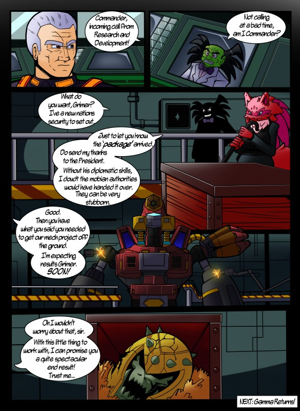 e621 absurd_res comic commander_brutus dialogue digital_media_(artwork) dreamcastzx1 english_text fan_character female fleetway g.u.n._commander grimer grimer_(sonic_the_comic) group hi_res human machine male mammal nintendo pokémon pokémon_(species) robot sonic_(series) sonic_the_comic text video_games