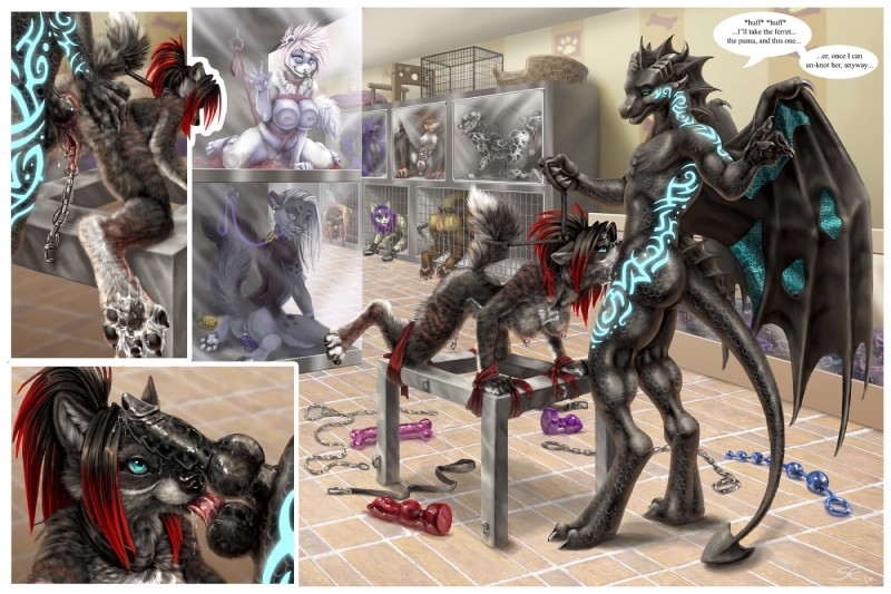 Black dragon bdsm pics 802