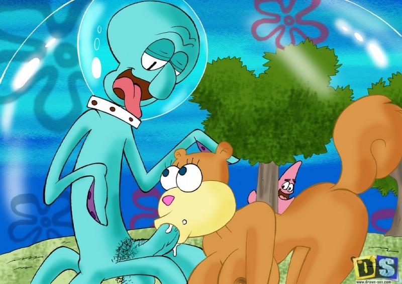 Cartoon sex spongebob