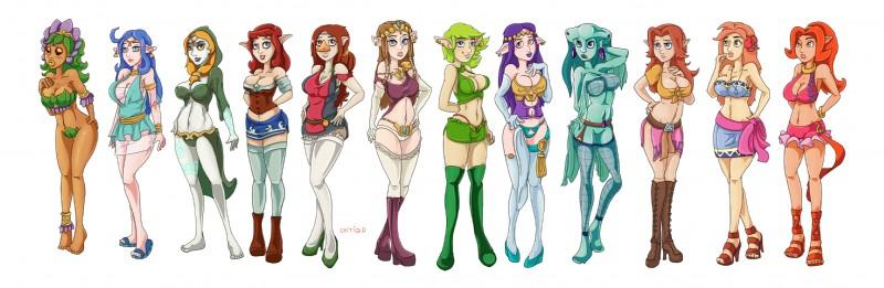 Princess Zelda Brown Hair